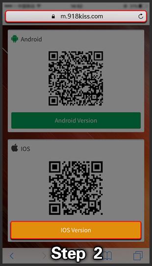 918kiss ios install step 2